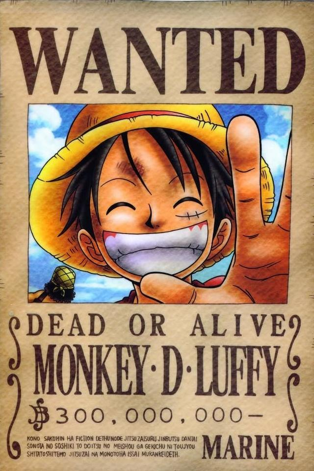Free Download One Piece Iphone 4 Wallpapers 640x960 Mobile