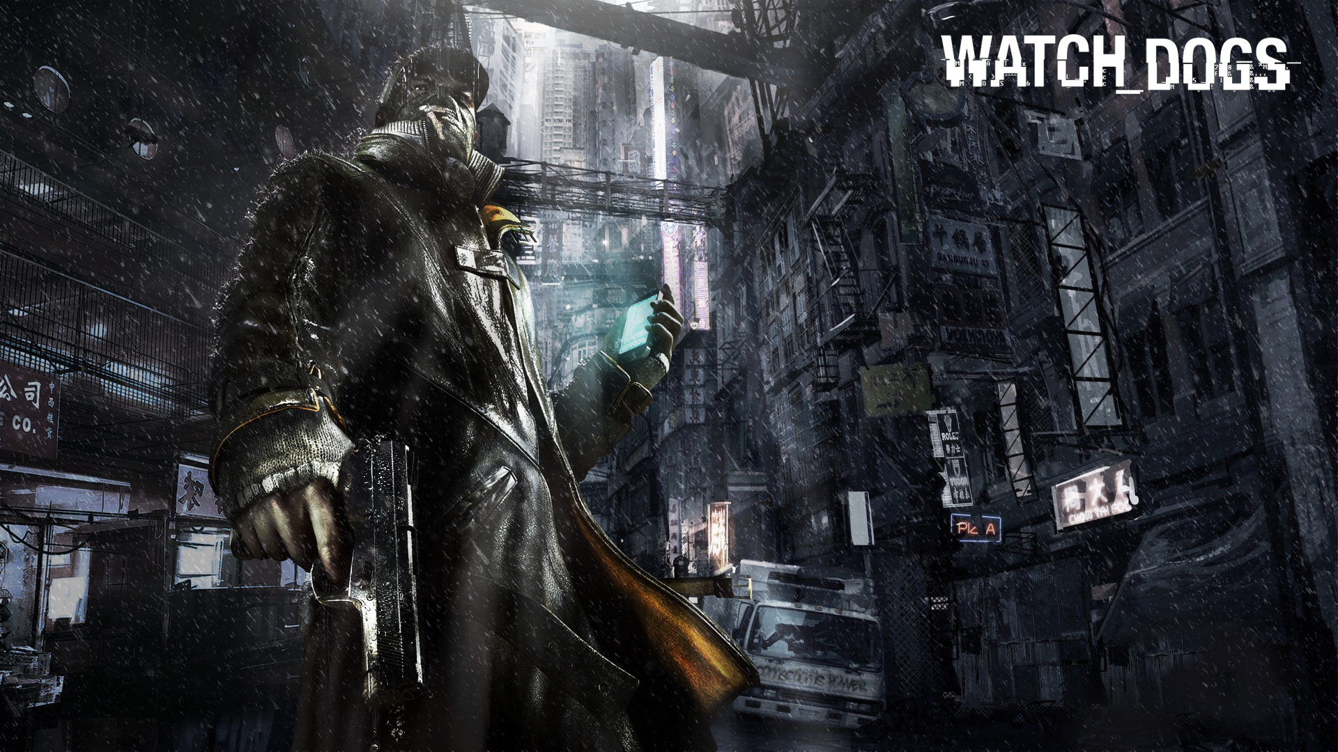 Watch Dogs Game Wallpapers HD Wallpapers 1920x1080