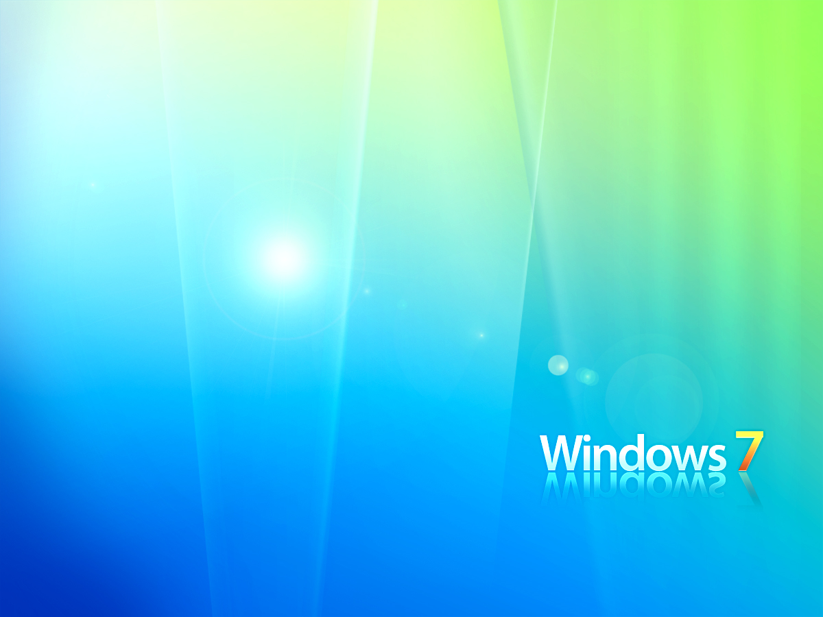 Windows 7 Ultimate Green Wallpapers here you can see Windows 7 1200x900