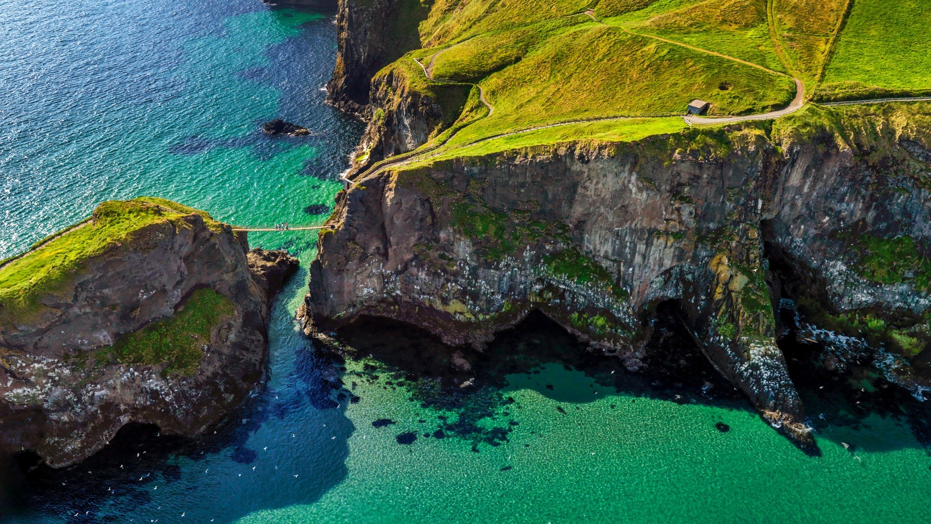1920x1080 Carrick A Rede NorthernIreland desktop PC and Mac wallpaper 1920x1080