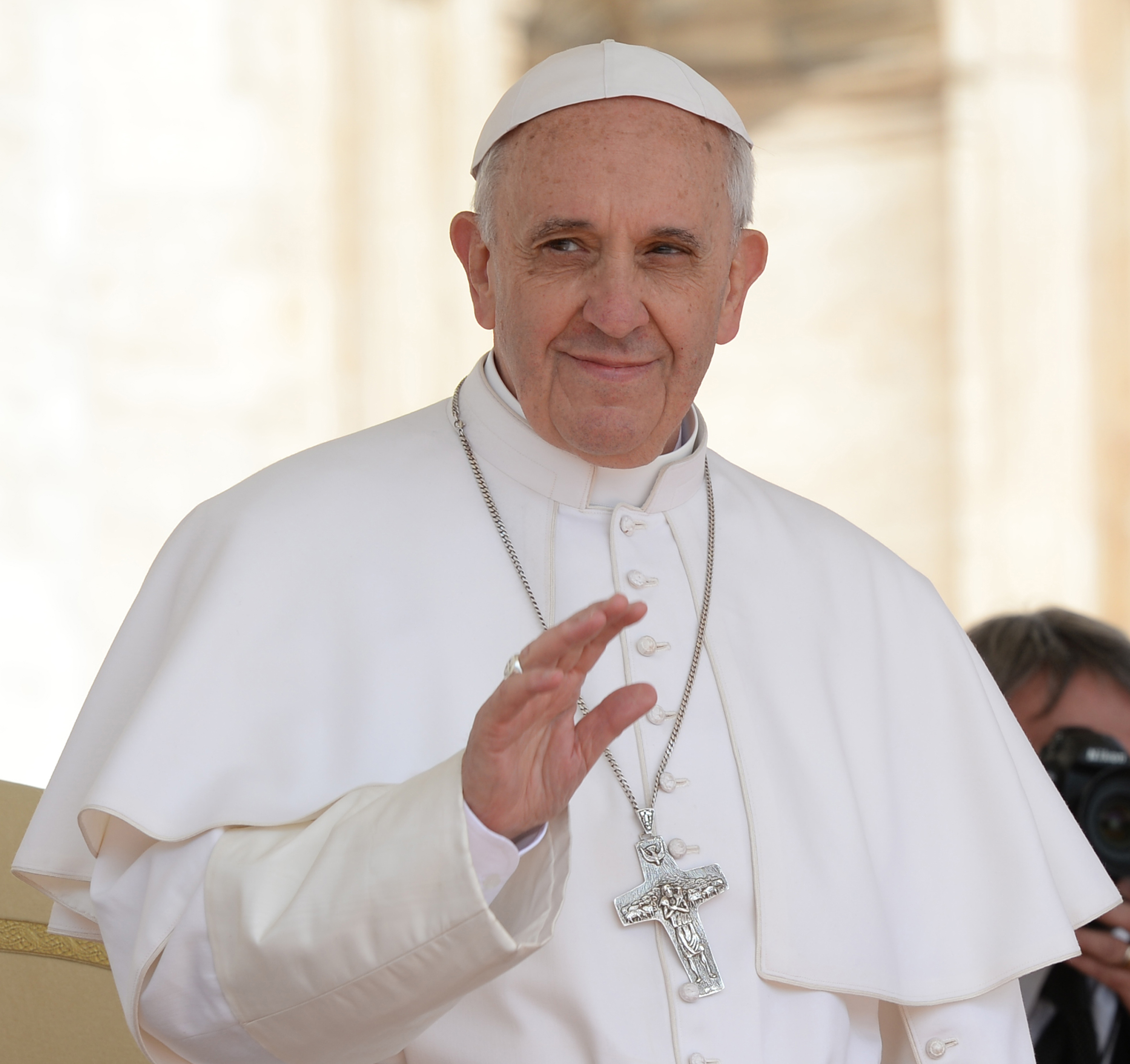 download Pope Francis God Lights [2362x2225] for your Desktop 2362x2225