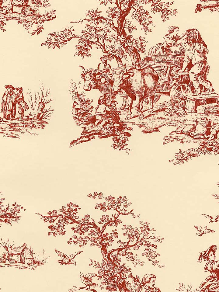 DESIGNER TOILE WALLPAPER UNDER 1000 PER ROLL 2B8   CH22504 720x960