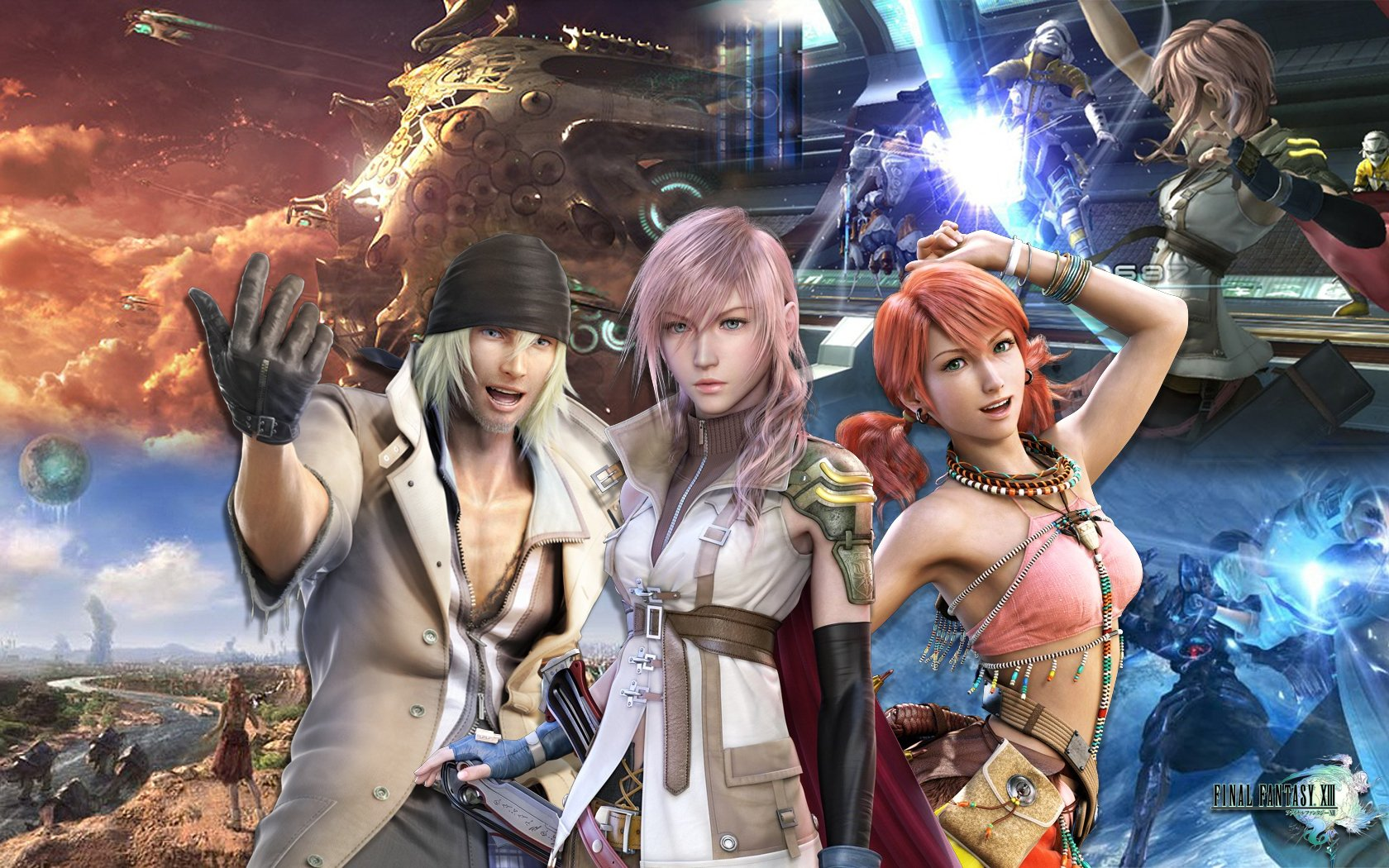 Final Fantasy XIII All things Final Fantasy 1680x1050