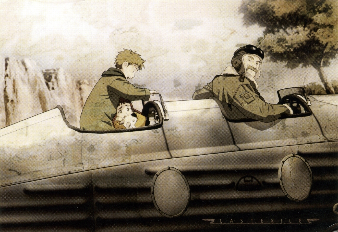 Muryou Anime Wallpaper gt Last Exile gt Last Exile 1380x945