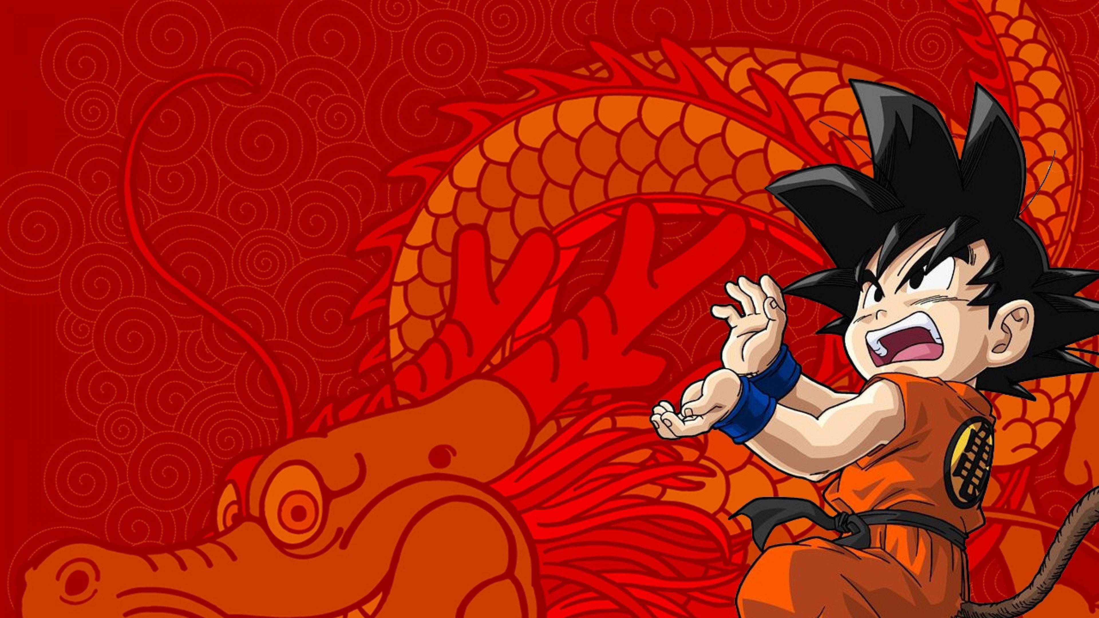 Son Goku Wallpapers 3840x2160