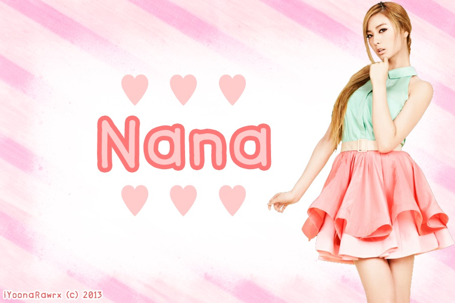 After School   Nana BG by iYoonaRawrx 900x600