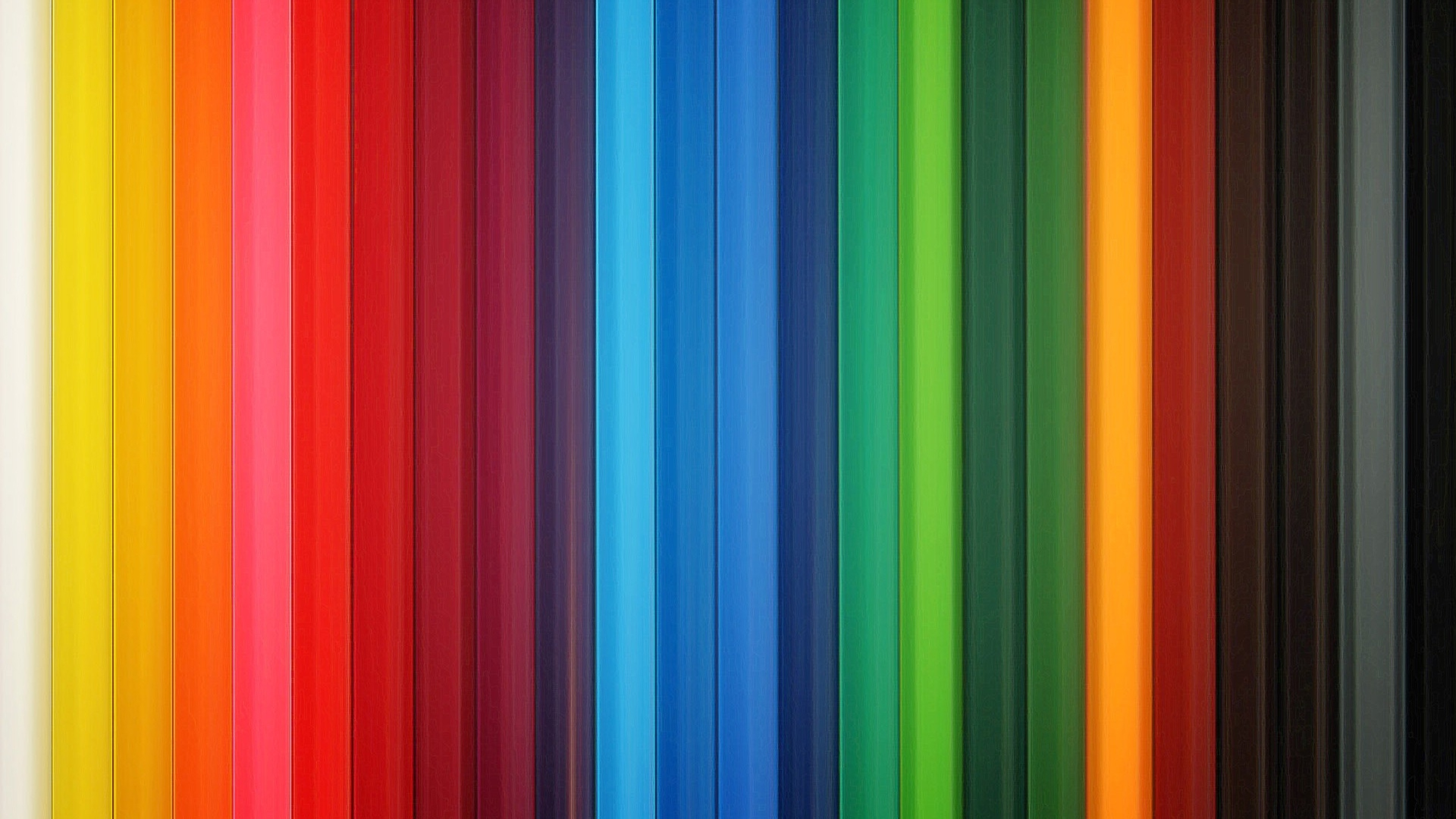 Download Wallpaper 3840x2160 Colorful Stripes Rainbow 3840x2160