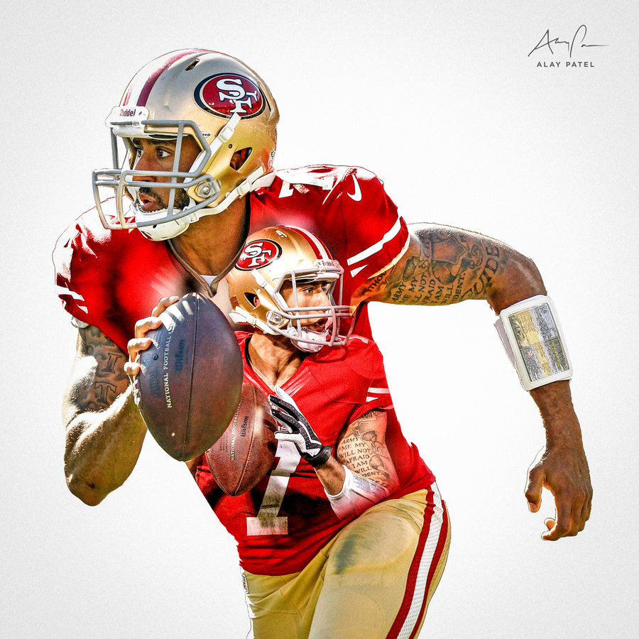 Colin Kaepernick   San Francisco 49ers by alaypatel on 900x900