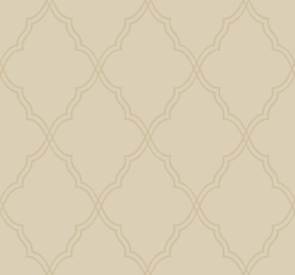 Taupe Lattice Wallpaper   Wall Sticker Outlet 600x561