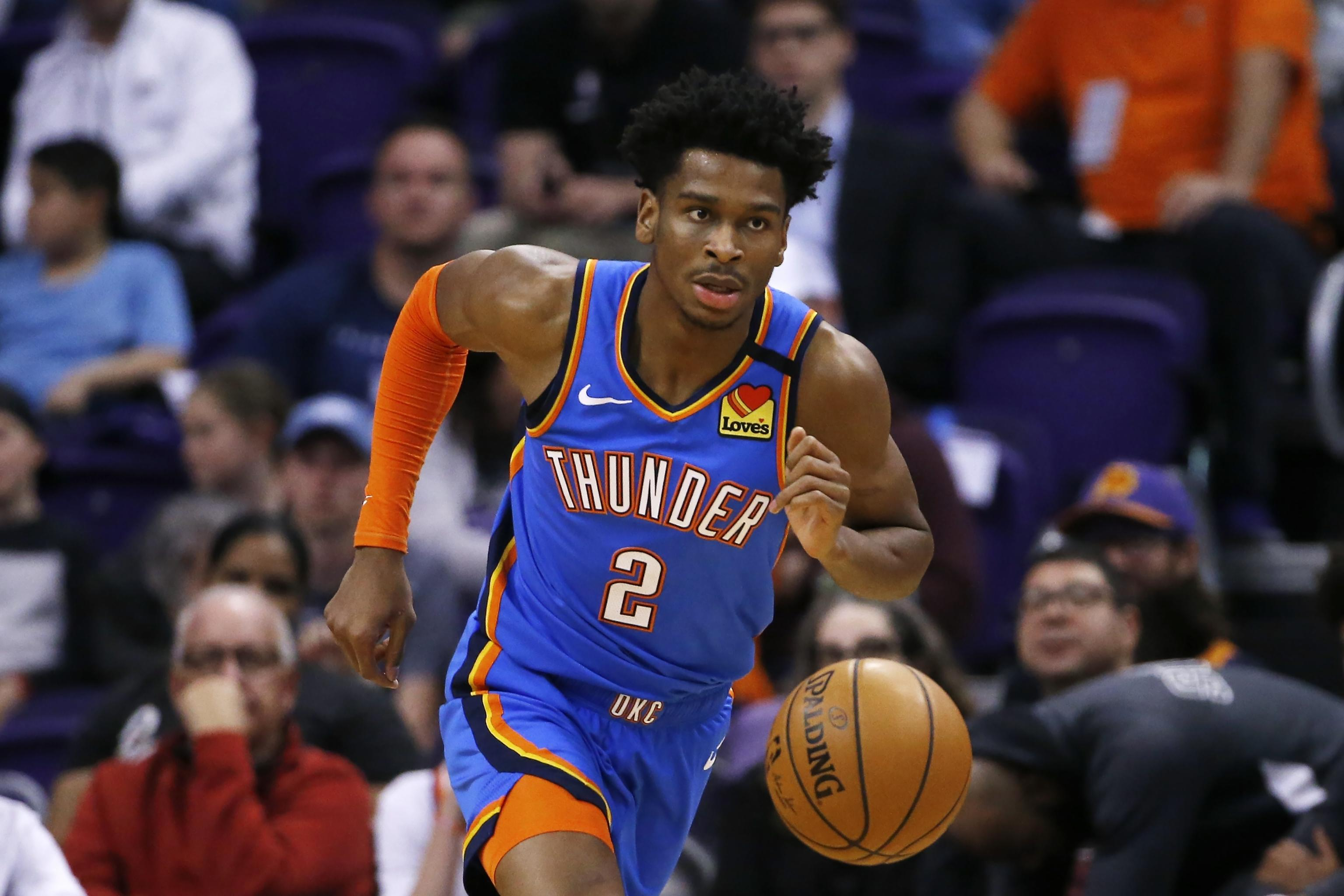 Shai Gilgeous Alexander to Replace Derrick Rose in 2020 NBA Skills 3072x2048