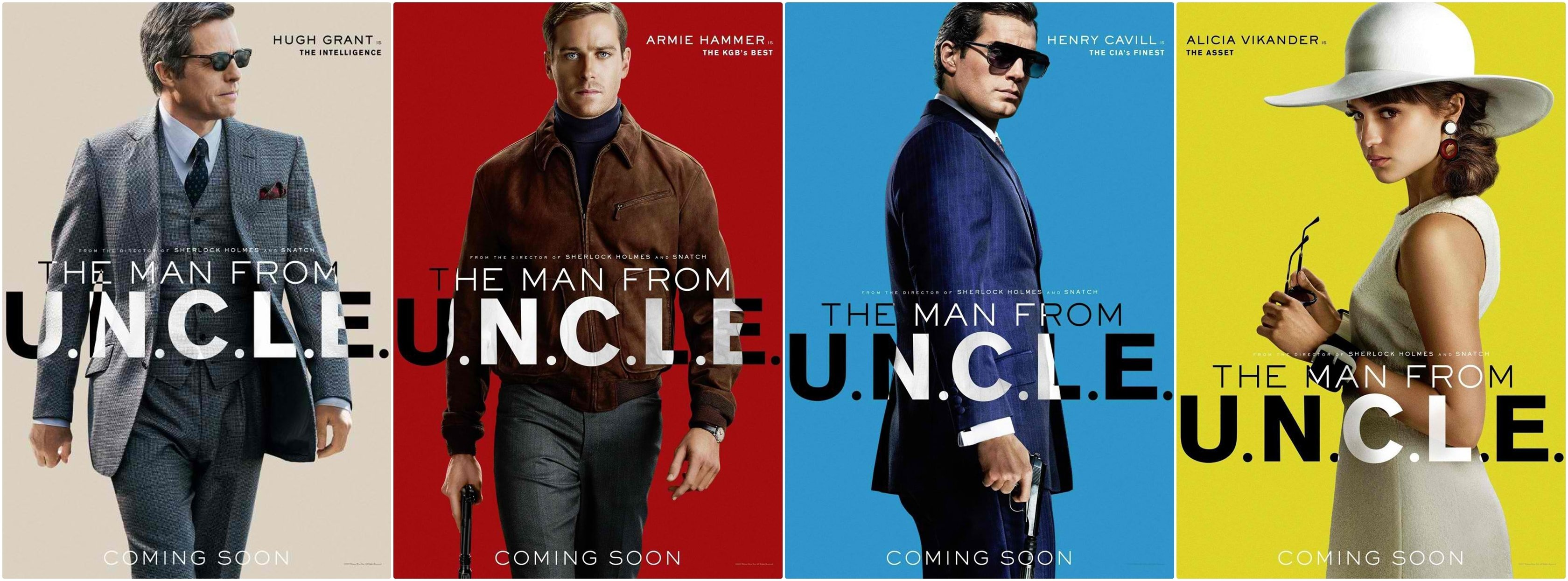 The Man from UNCLE HD Desktop Wallpapers 3360x1245