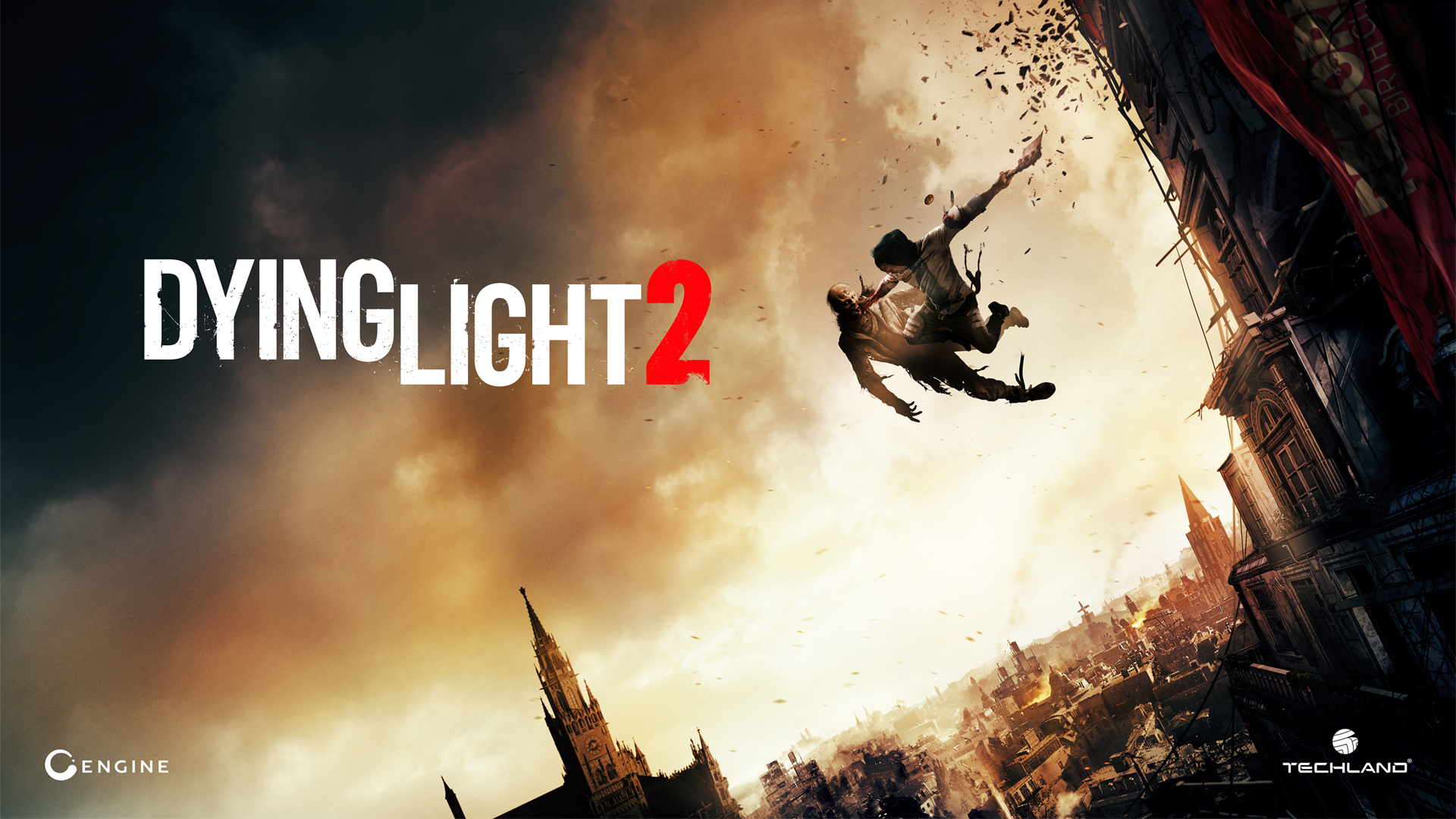 Falling down Wallpaper from Dying Light 2 gamepressurecom 1920x1080