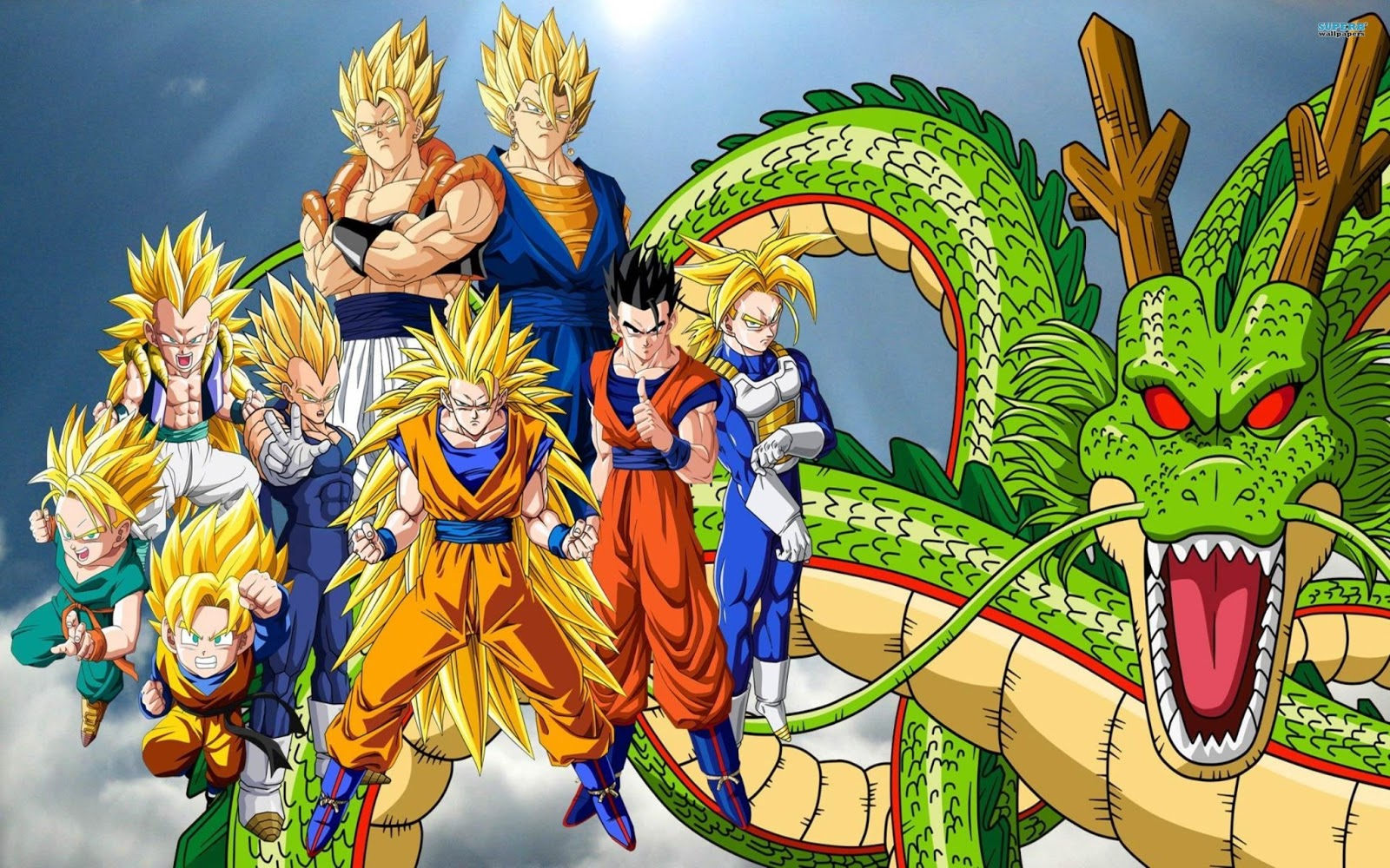 Wallpapers HD Dragon Ball Gt Z Full HD Wallpapers 1600x1000