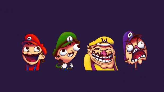 Memes Mario Bros Wallpaper Funny mario bros wallpaper memes 620x348