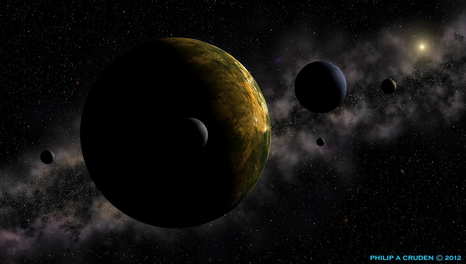 Pluto Planet 22 Widescreen Wallpaper   Hivewallpapercom 1600x907