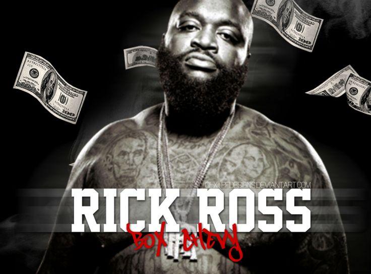 RICK ROSS gangsta rapper rap hip hop poster th wallpaper 1918x1418 736x544