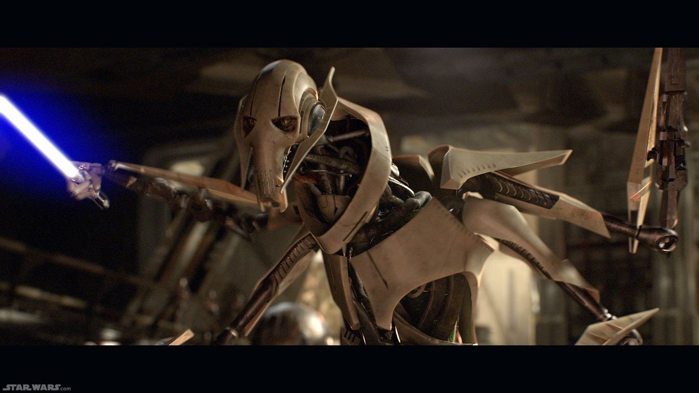 download General Grievous HD background Character wallpapers 1365x768