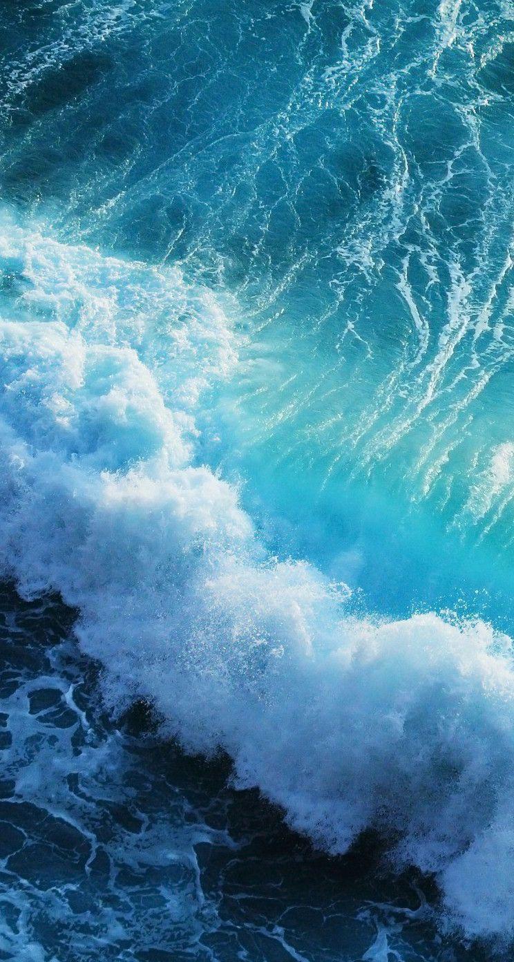 Live ocean wave Iphone wallpaper Iphone 6 wallpaper backgrounds 744x1392