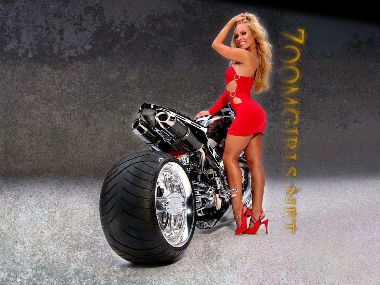 Girls on Motorcycles Wallpapers - WallpaperSafari