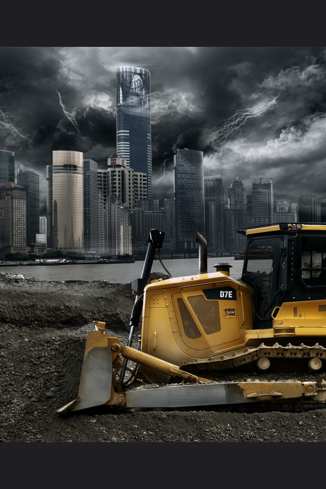 Construction Equipment Wallpaper - WallpaperSafari