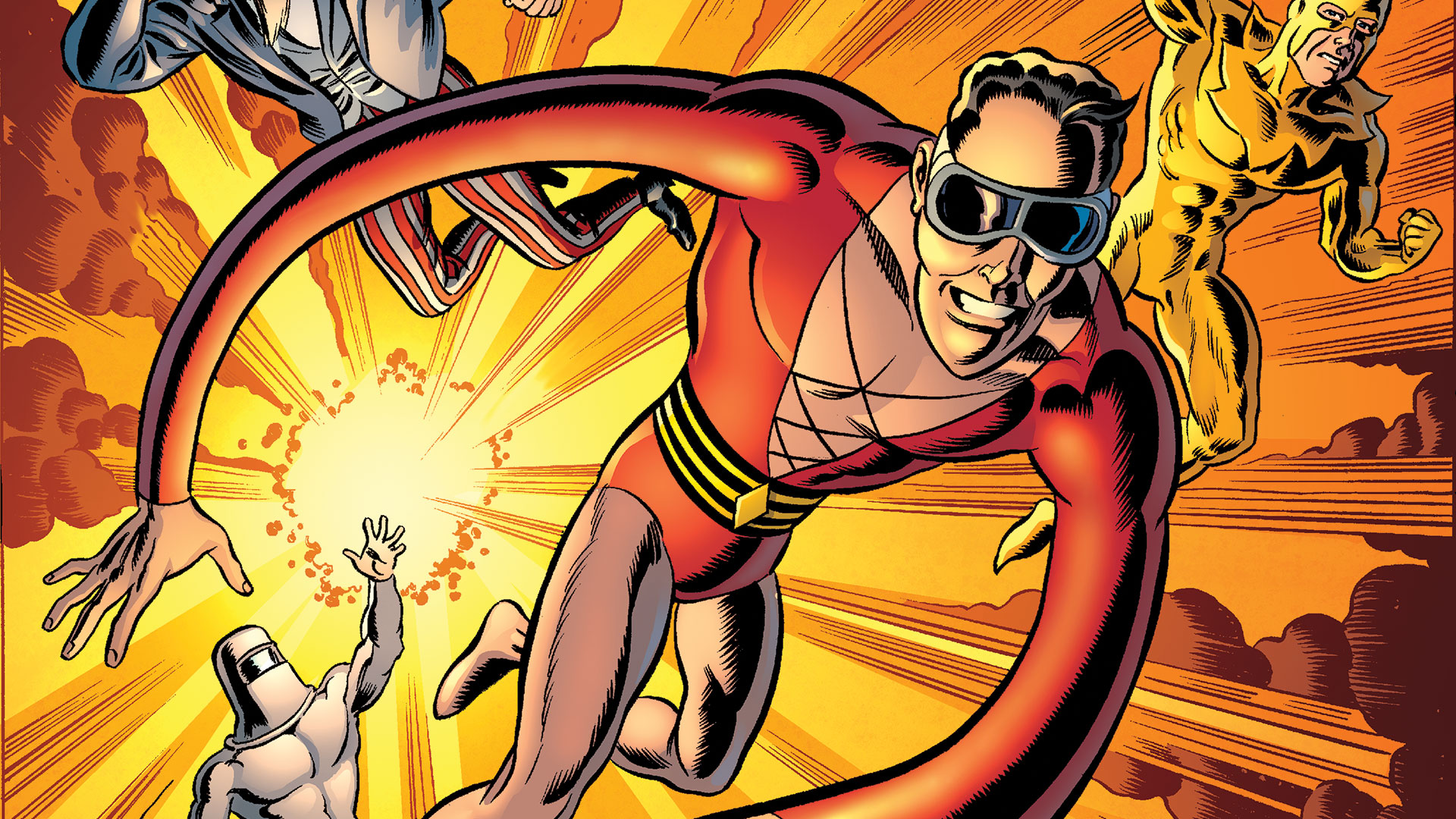 Convergence Confidential Plastic Man and the Freedom Fighters DC 1920x1080