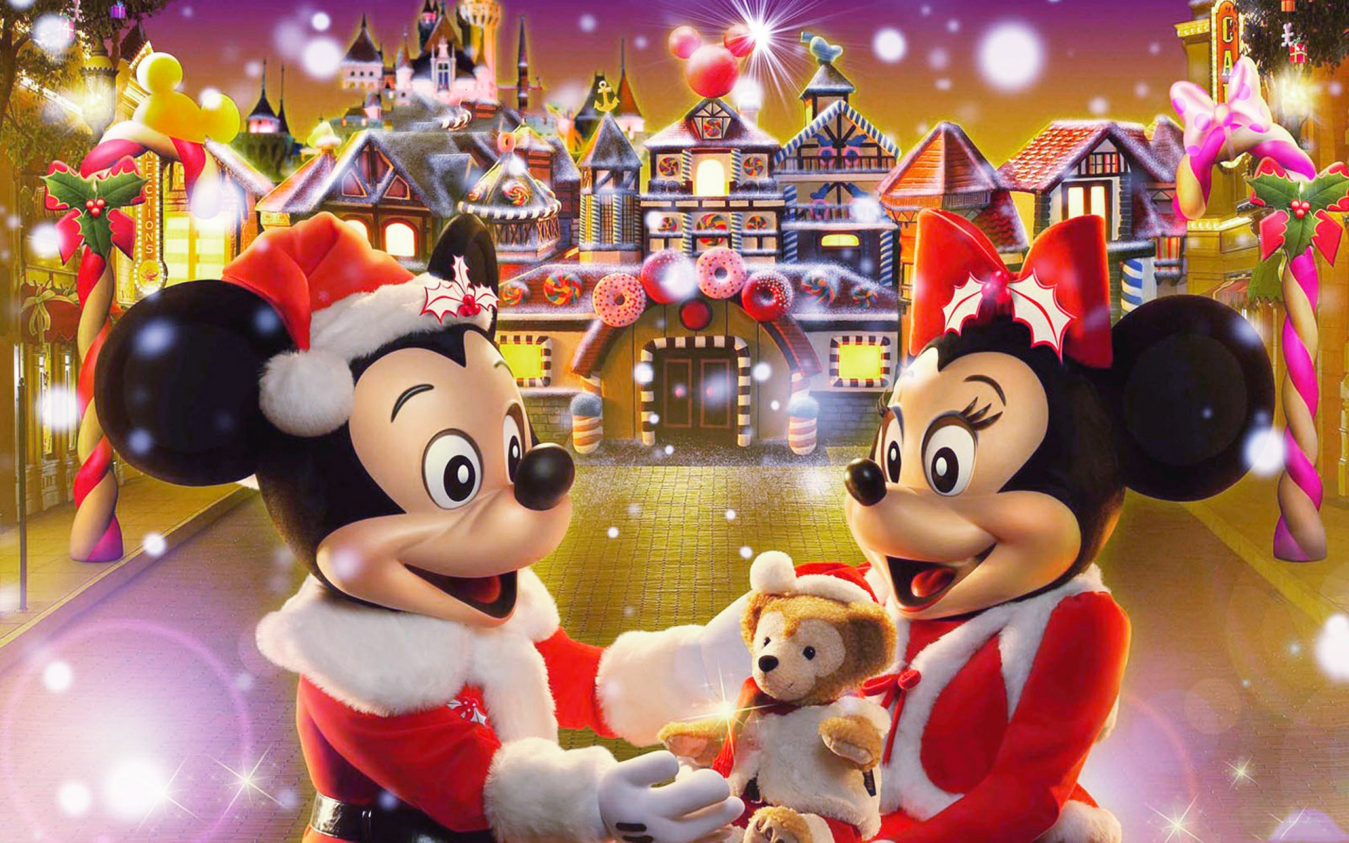 Disney Christmas Wallpapers HD 1920x1200