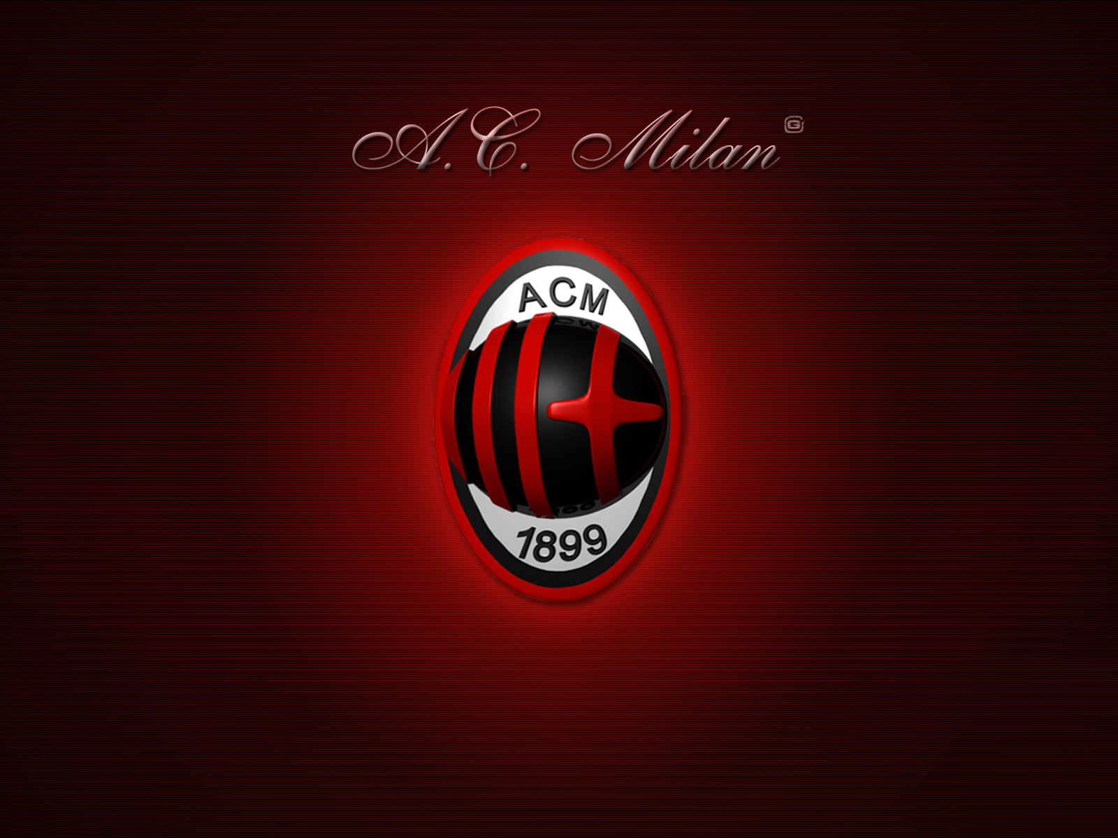 AC Milan Logo Wallpapers HD Collection Download Wallpaper 1600x1200