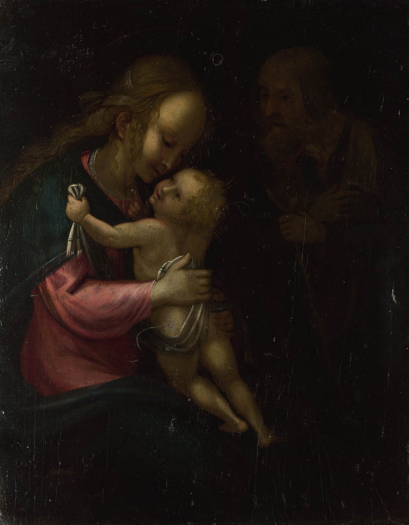 Holy Family   A italian renaissance classical art wallpaper picture 841x1080