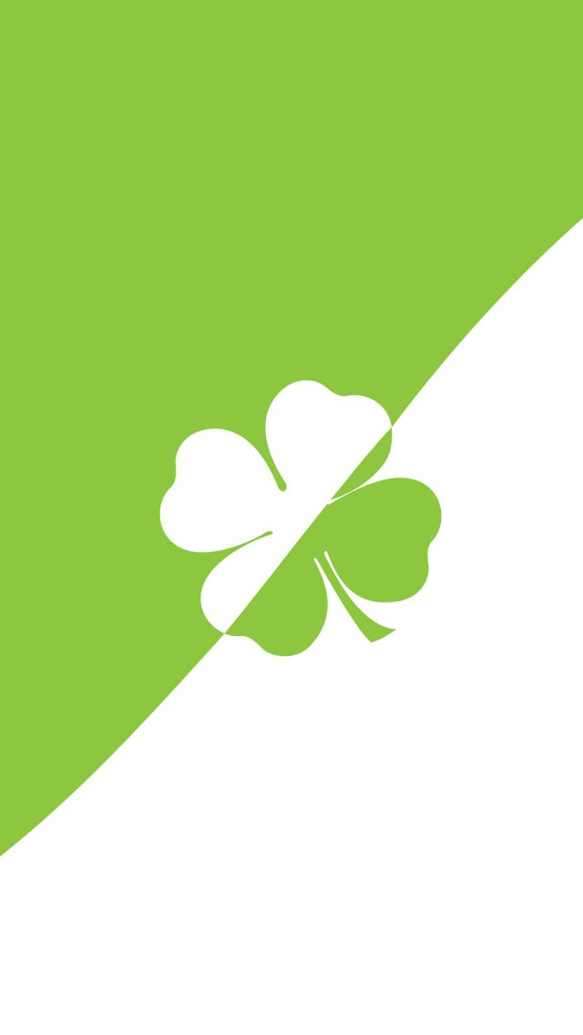Lucky 4 Leaf Clover iPhone 5 Wallpaper HD   Download 640x1136
