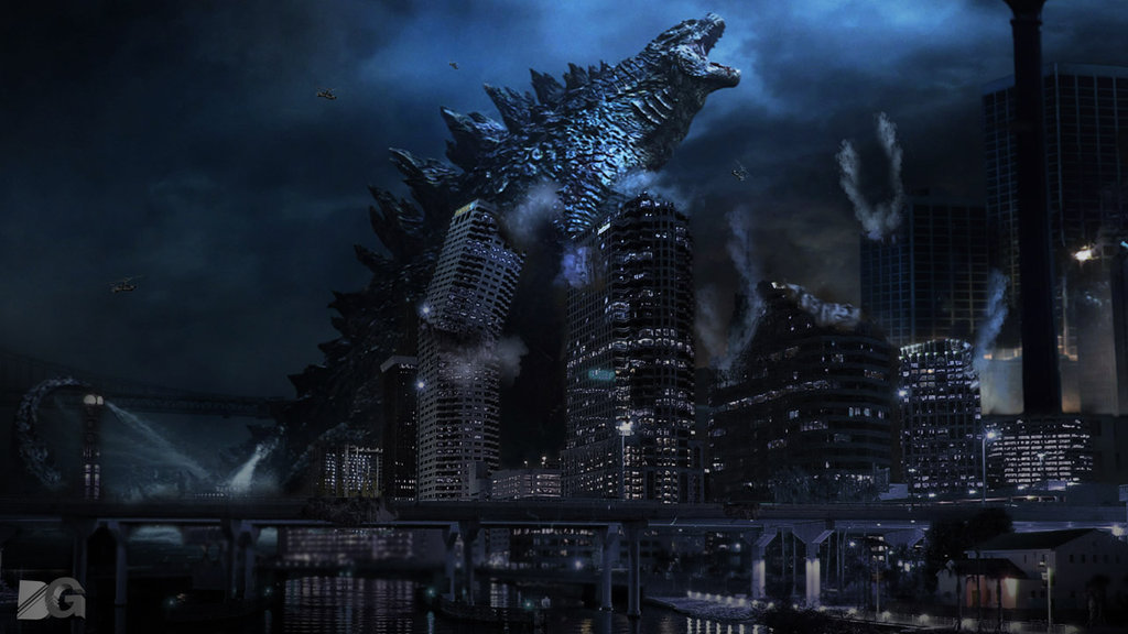 Wallpaper Godzilla 2014 by Diegodig 1024x576