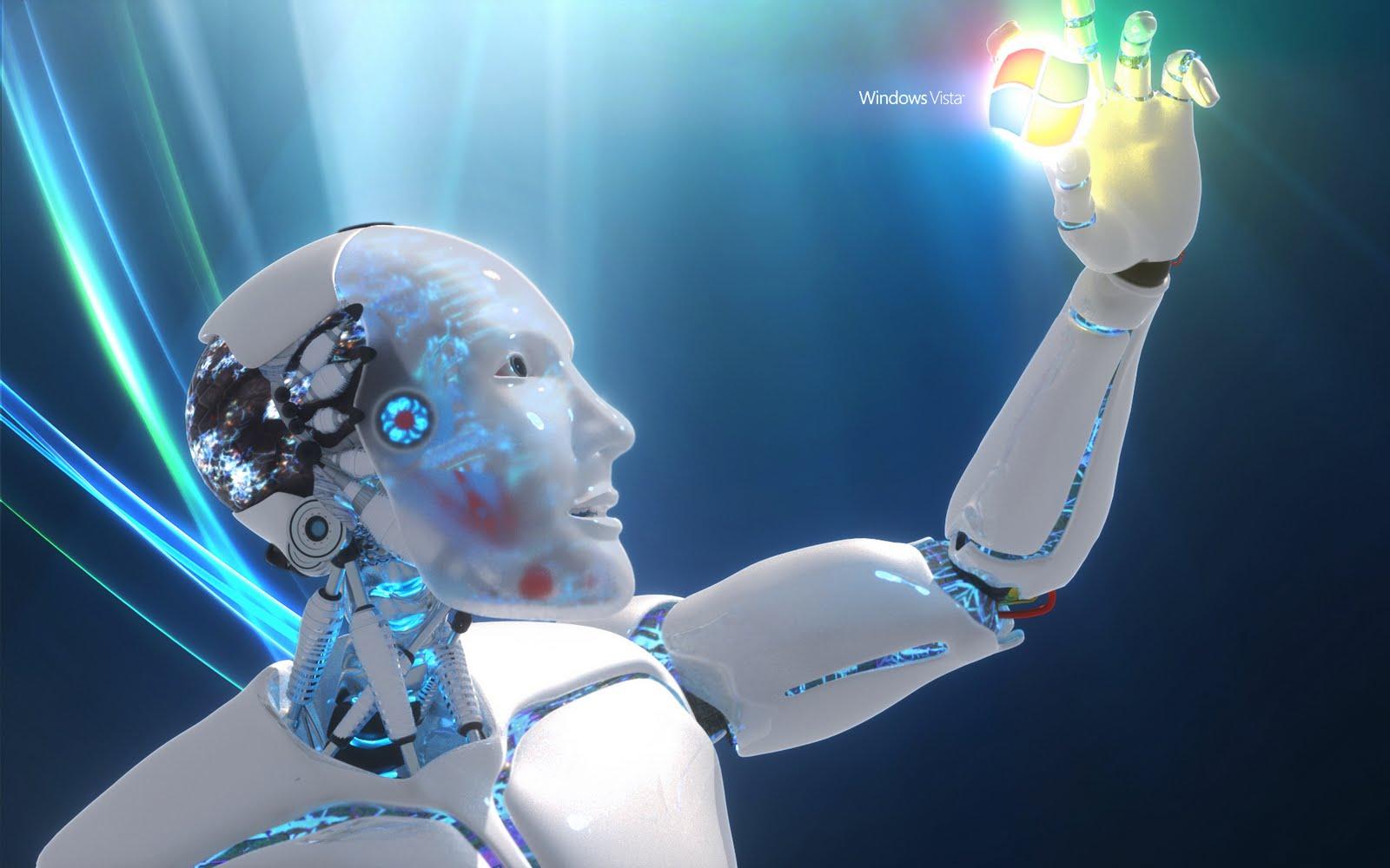 robot desktop wallpaper - wallpapersafari
