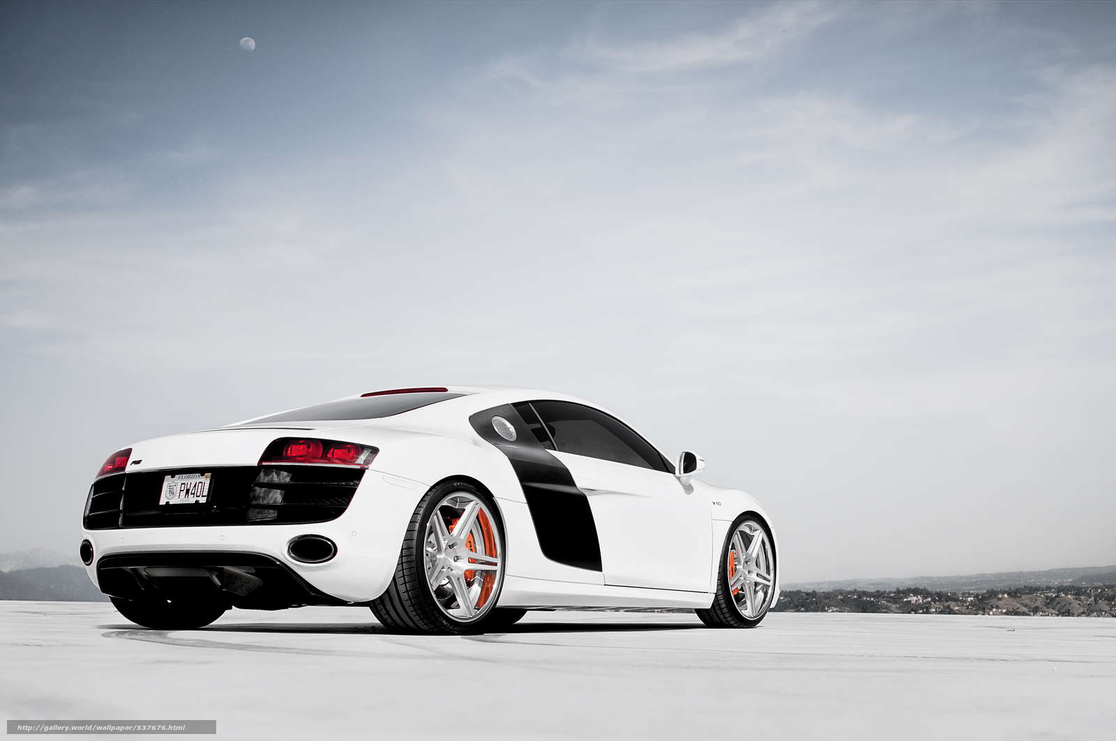 Download wallpaper audi R8 white Audi desktop wallpaper in the 1600x1063