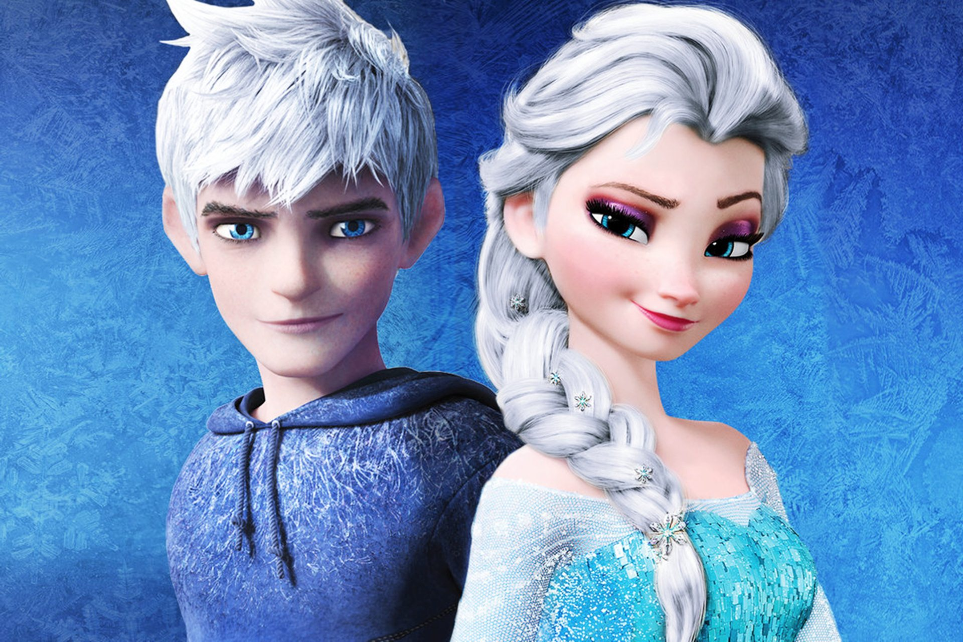 47 Elsa And Jack Frost Wallpapers On Wallpapersafari