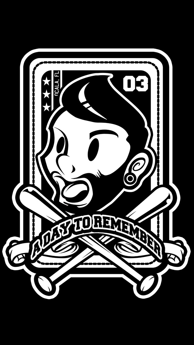 day to remember   iphone 5 wallpapers 640x1136