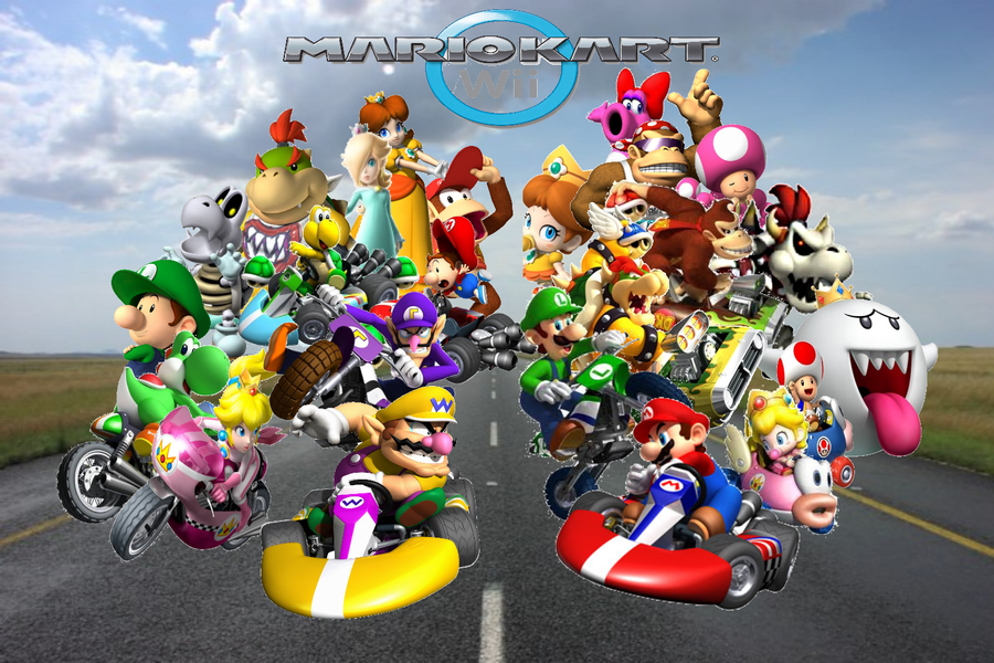 how to get all karts in mario kart wii