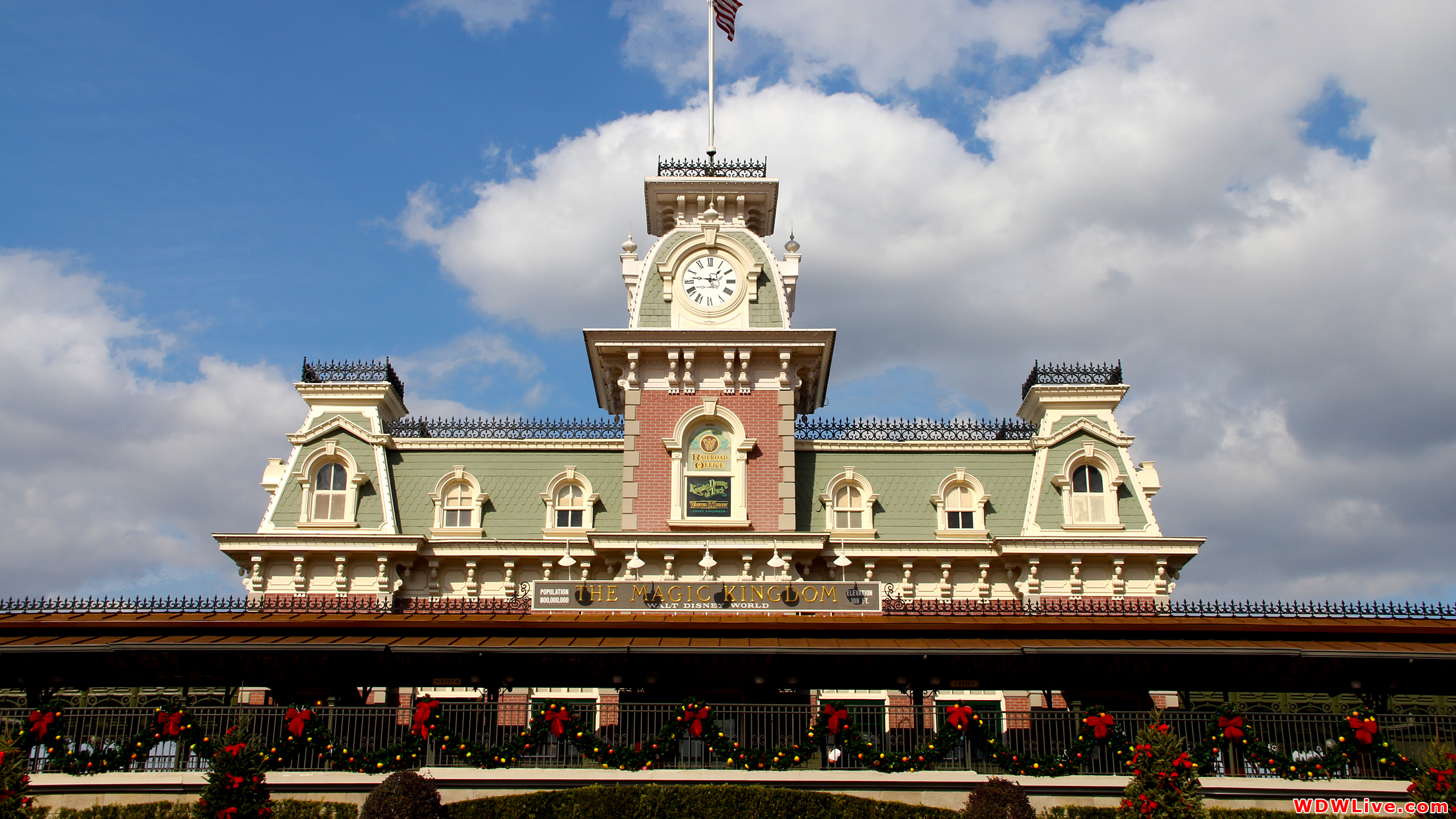 Walt Disney World Railroad Desktop Wallpaper 2560x1440 2560x1440