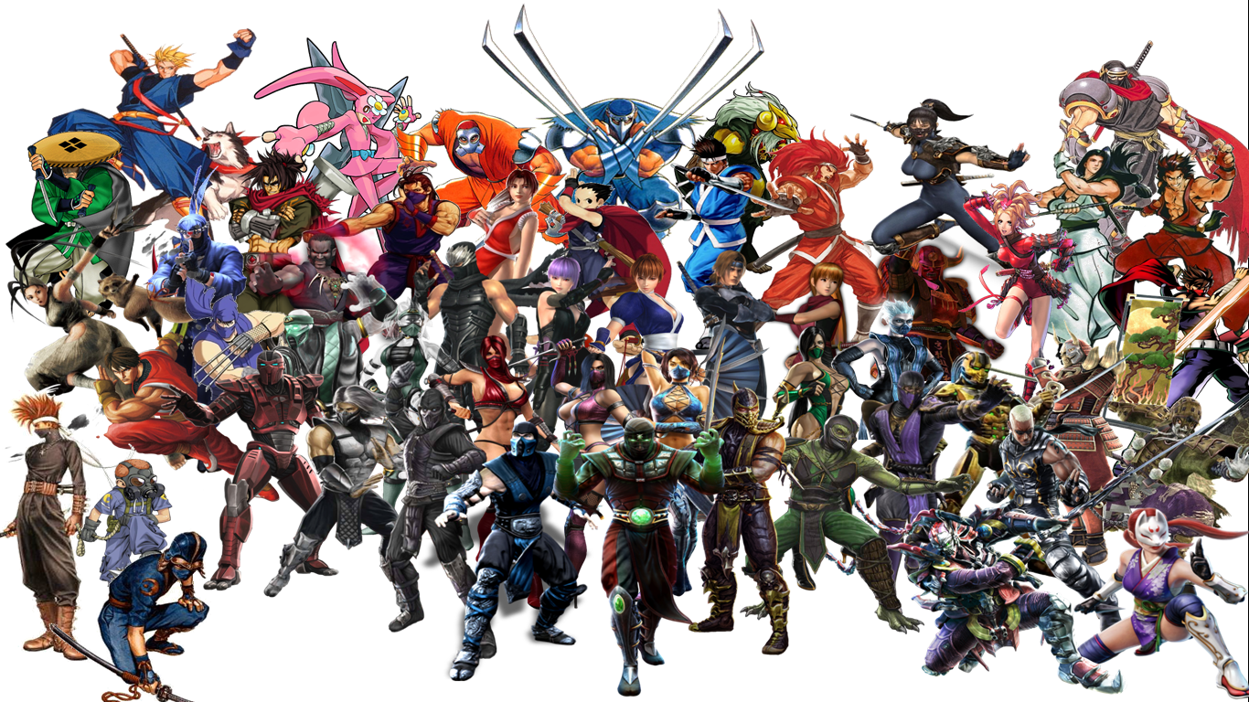 Video Game Characters Wallpaper 2013 Game wallpaper 1366x768