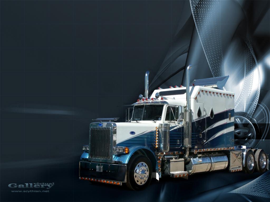 Semi Trucks Wallpapers for Desktop - WallpaperSafari