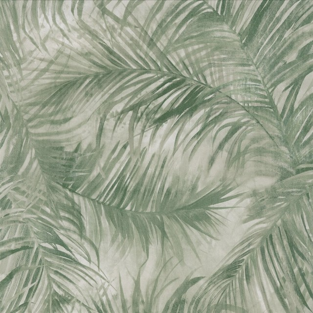 Green Fan Palm Wallpaper Sample   Tropical   Wallpaper   by Walls 640x640