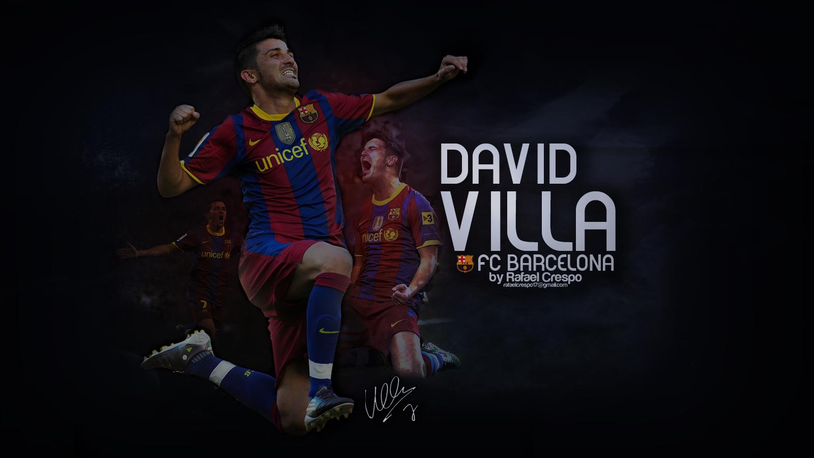 david villa wallpaper by r crespo on deviantART 1600x900