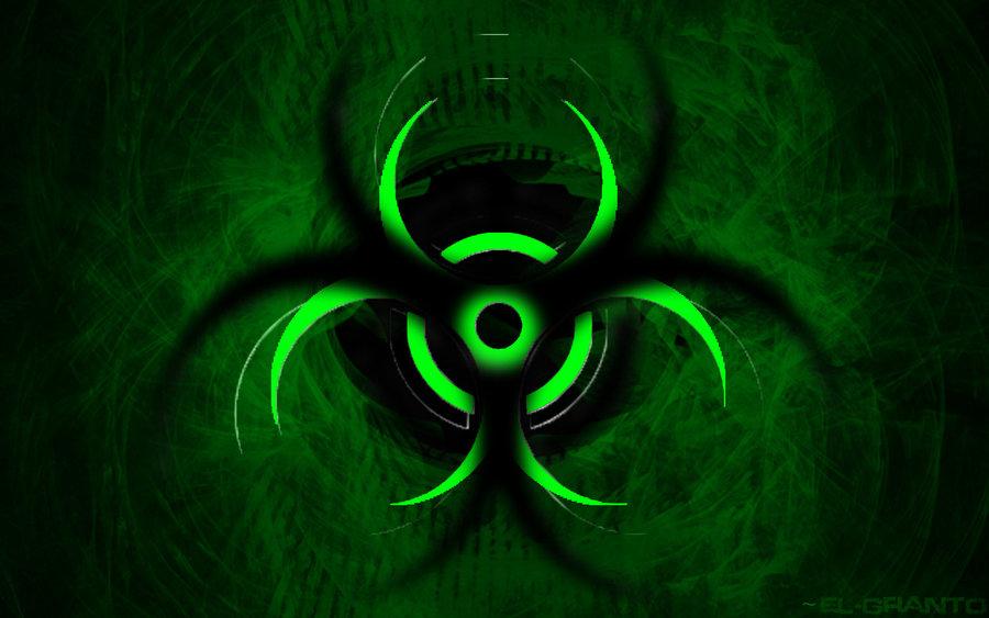 Biohazard Symbol Wallpaper Fire Biohazard echo by arkanith 900x563