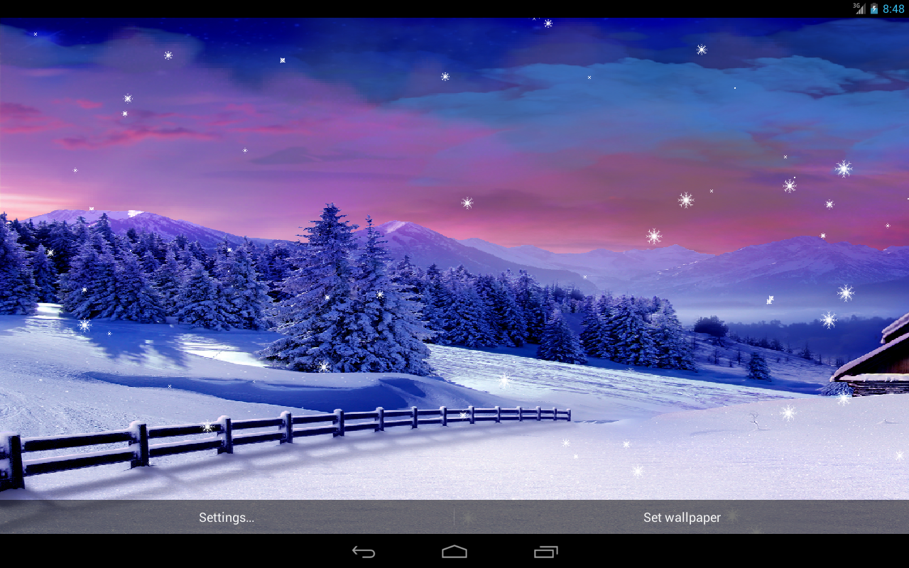 Snow Love Wallpaper For Pc : Live Falling Snow Desktop Wallpaper - WallpaperSafari