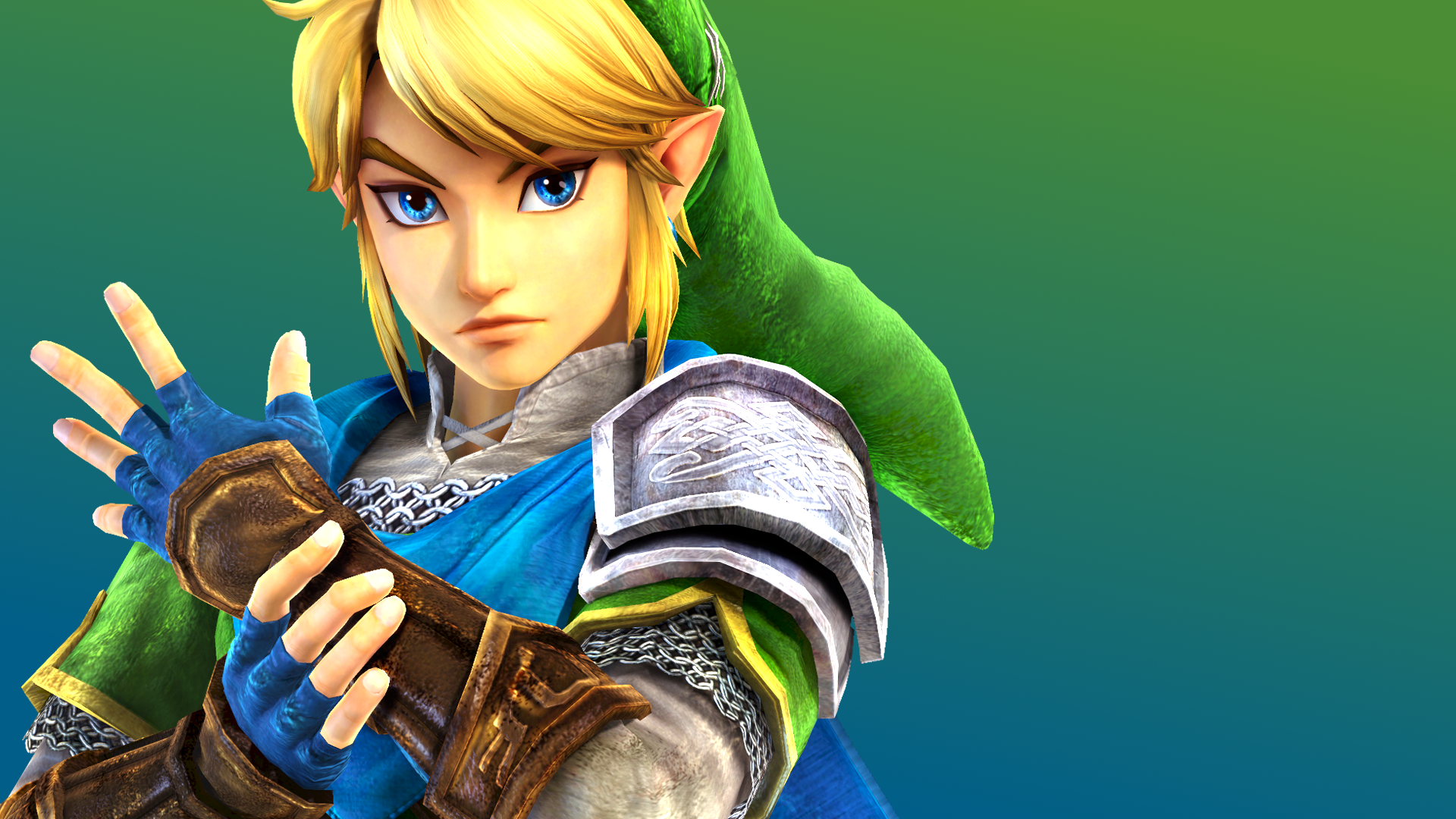 Link Hyrule Warriors Wallpaper   Color by MachRiderZ 1920x1080