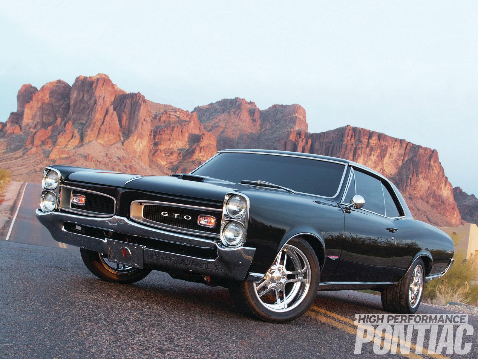1966 Pontiac Gto Front View 1600x1200