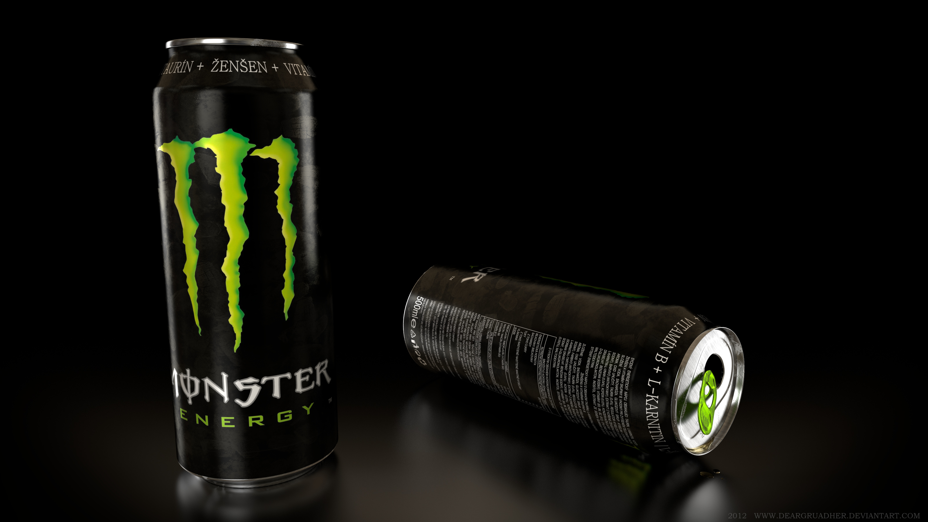 Monster Energy Drink by DeargRuadher 3200x1800