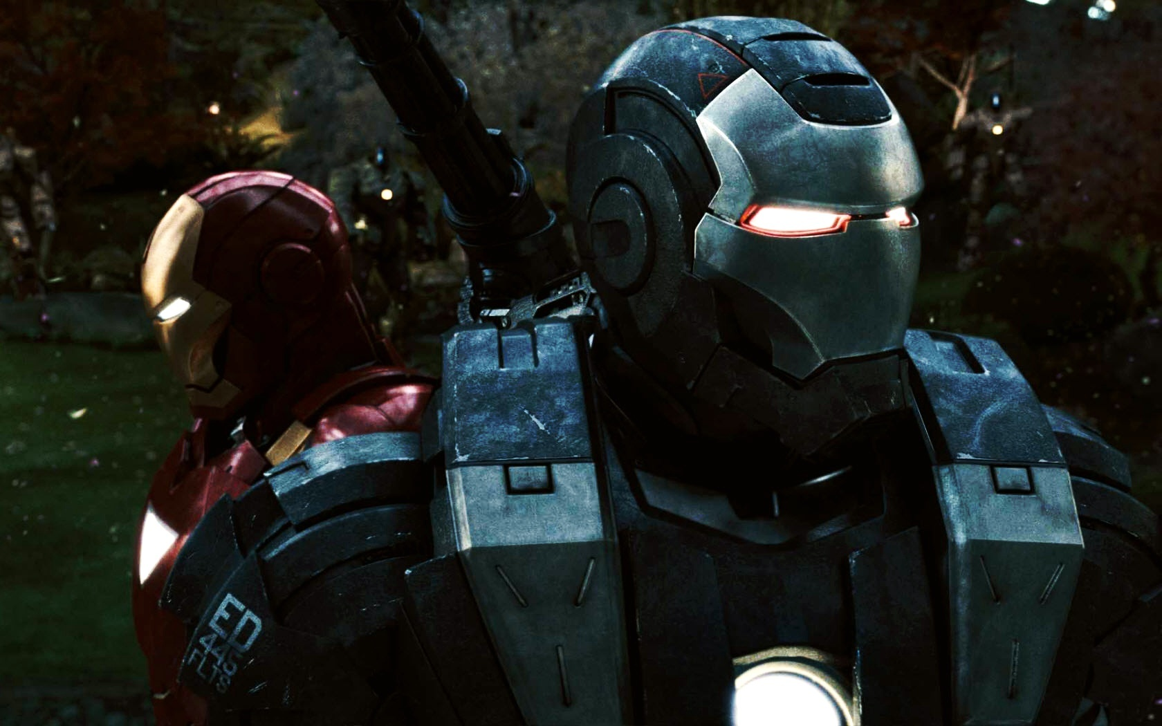 Iron Man e War Machine Sfondi desktop WallpaperPixel 1680x1050
