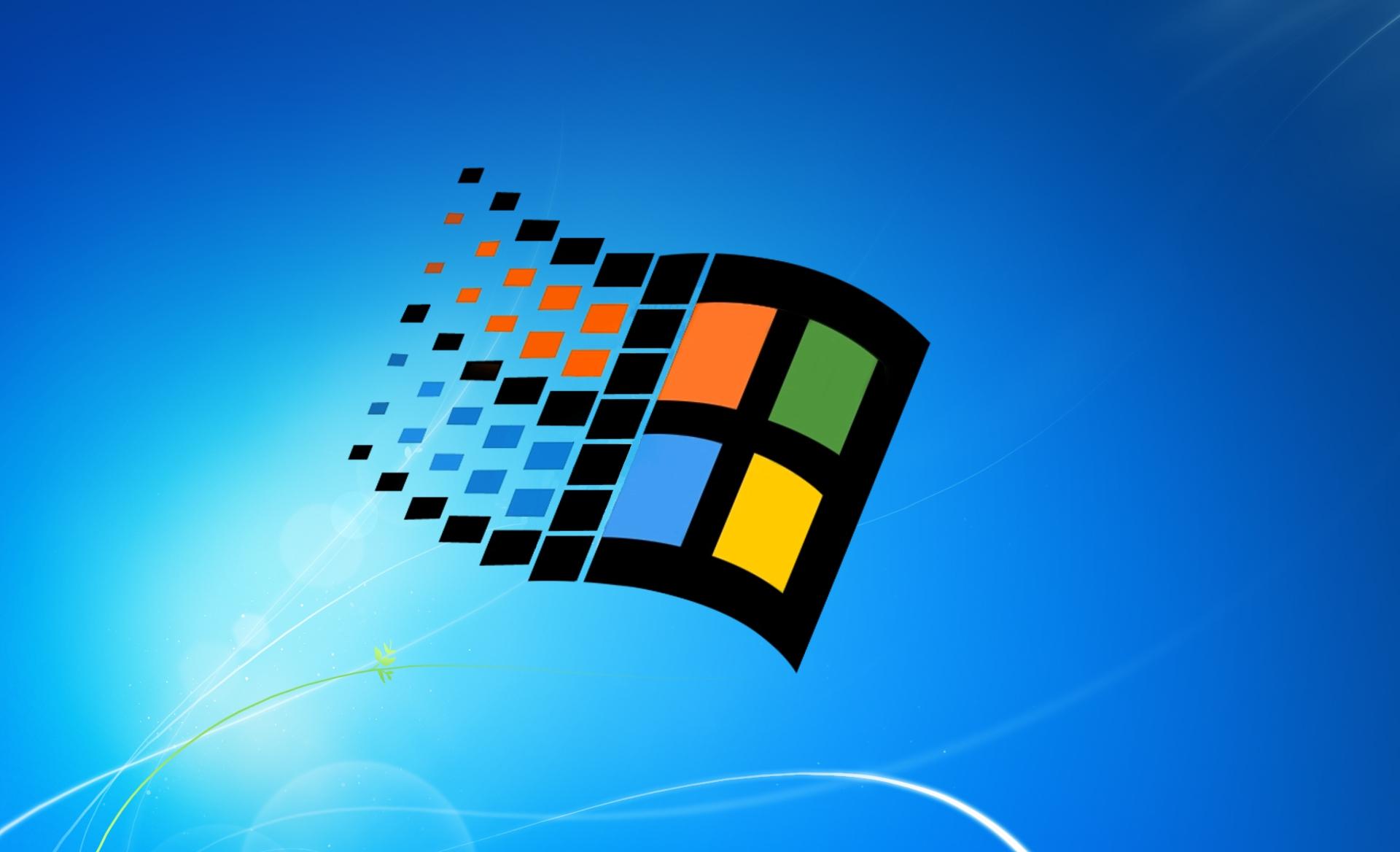Microsoft Windows Logo Wallpaper