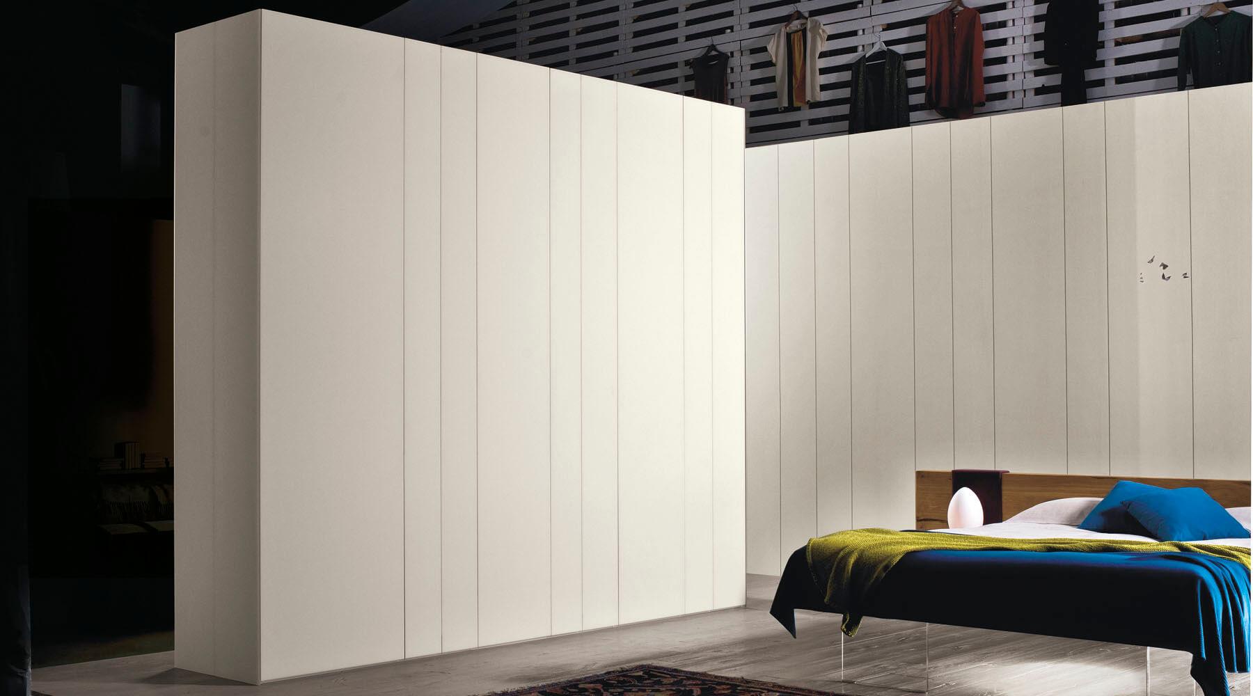 Striped wallpaper that seems like a wardrobe LAGO Design 1800x1000
