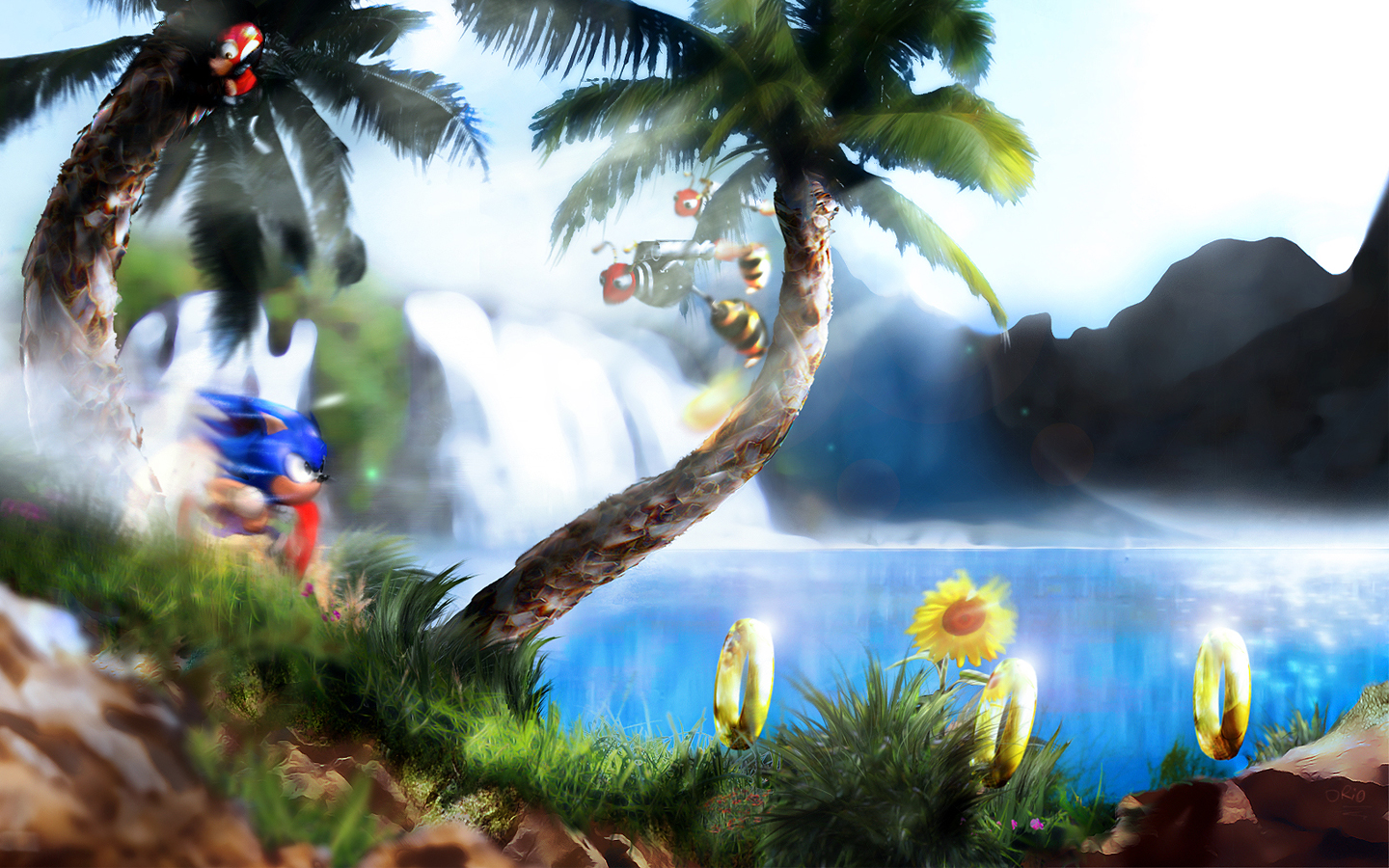47+] HD Sonic Wallpaper 1080p on WallpaperSafari