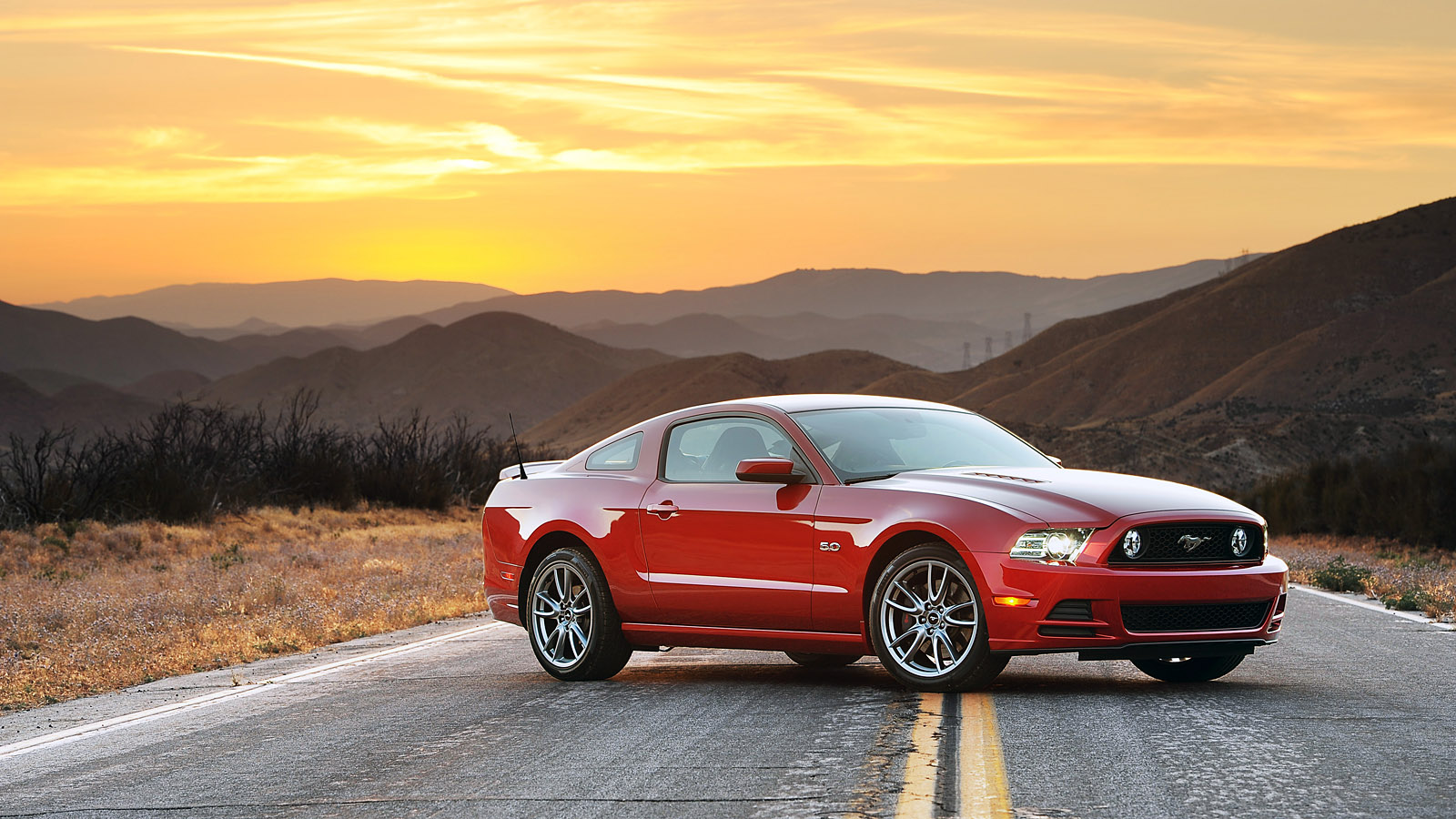 2013 Ford Mustang GT Desktop Wallpaper Mustangs Daily 1600x900